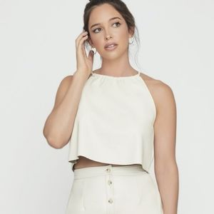 LOST + WANDER - NWT Champagne Stories Top